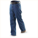 Guide Gear Men's Flannel-Lined Carpenter Jeans