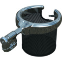 Kuryakyn Drink Holder With Basket For Round Bars
