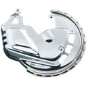 Kuryakyn Chrome Rotor Cover With L.E.D. Ring Of Fire For Honda Goldwing