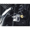 Kuryakyn Chrome Universal Helmet Lock For 1 1/4' Tube