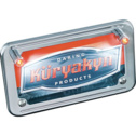 Kuryakyn L.E.D. License Plate Illuminatiors With Red Accent Light