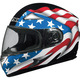 AFX FX-90 Flag Full Face Helmet