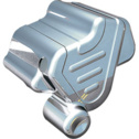Kuryakyn Rear Brake Caliper Cover For VTX1300