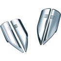 Kuryakyn Chrome Fork Protector Covers For Raider