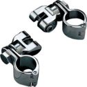 Kuryakyn Universal Cruise Peg Mounts With Magnum Quick Clamp