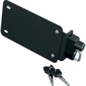 Kuryakyn License Plate Helmet Lock With Mount