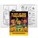 Be Safe Be Seen On Halloween Educational Activities Book With Stitched-In Mask - Personalization Available
