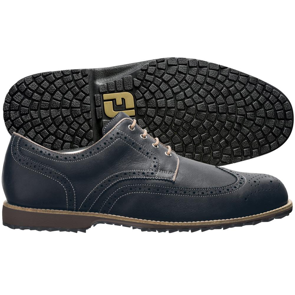 Footjoy Mens Professional Spikeless Wingtip Golf Shoes
