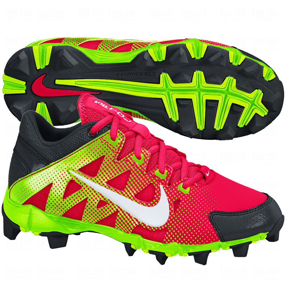 NIKE Youth Hyperdiamond Keystone GS Molded Cleat ...