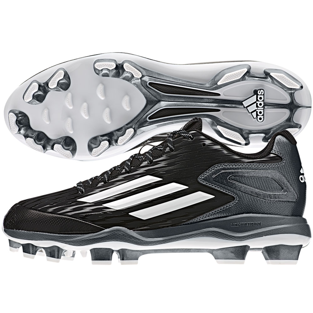 28cfb8ad69df adidas Mens PowerAlley 3 TPU Molded Cleats » Baseball Savings ...