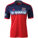 adidas Mens MLS ClimaCool Chicago Fire Replica Jersey