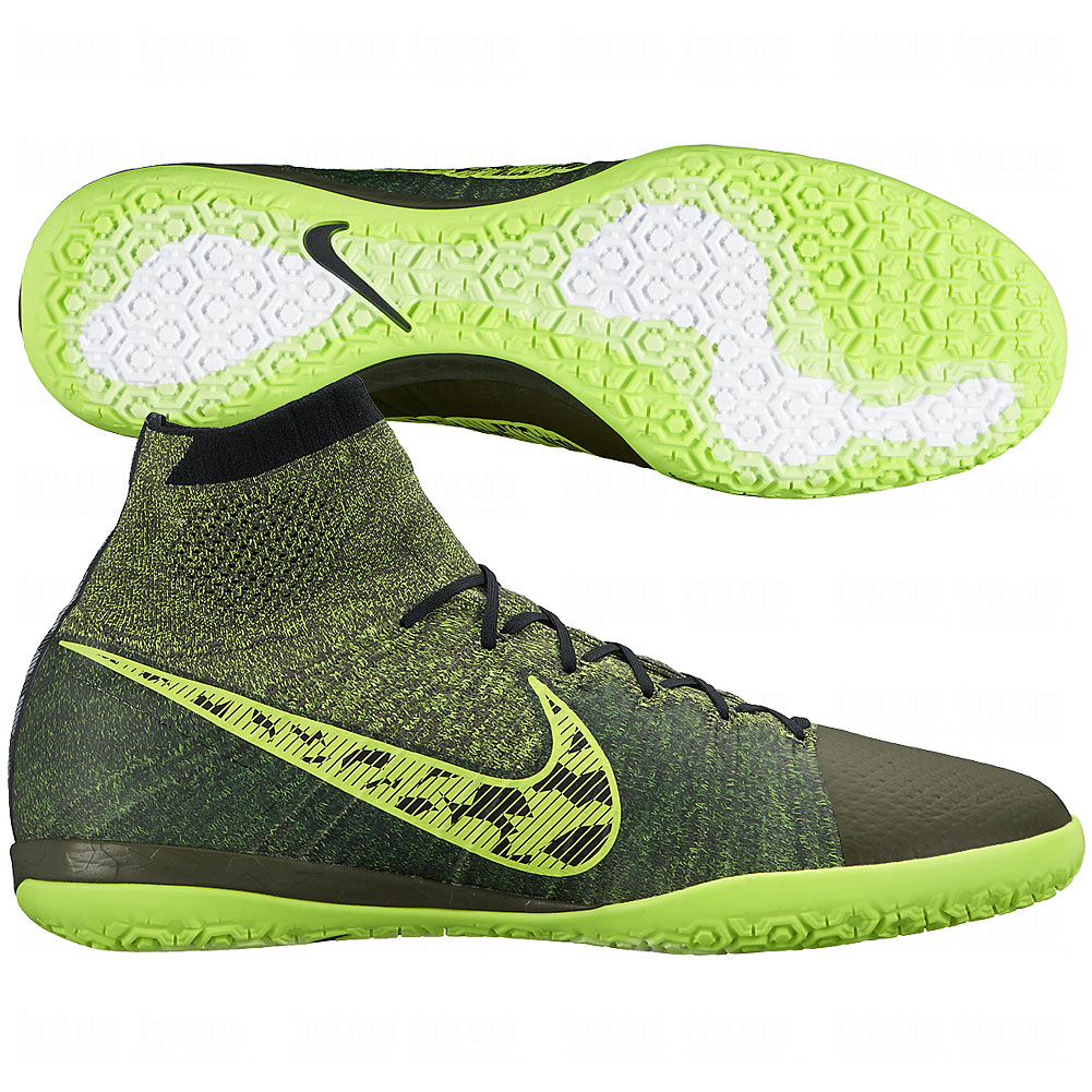 NIKE Mens FC247 Elastico Superfly Indoor Soccer Shoe ...