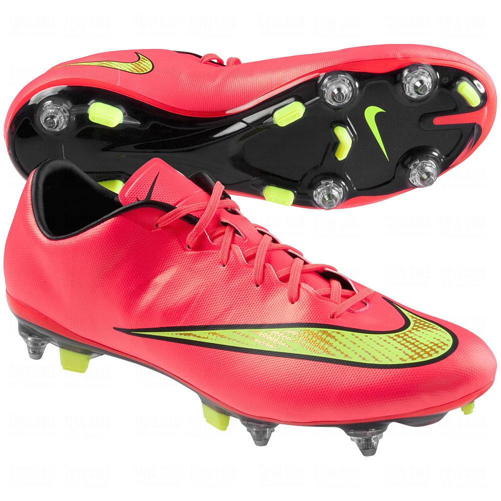 NIKE Mens Mercurial Veloce II SG-Pro Soft Ground Soccer Shoe ...