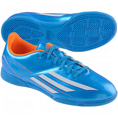 adidas blue indoor soccer shoes