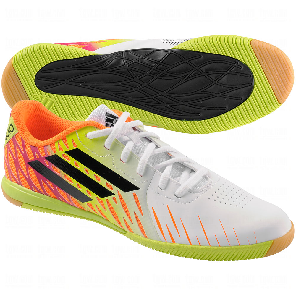 adidas Mens Freefootball SpeedTrick Messi Indoor Soccer Shoes ...