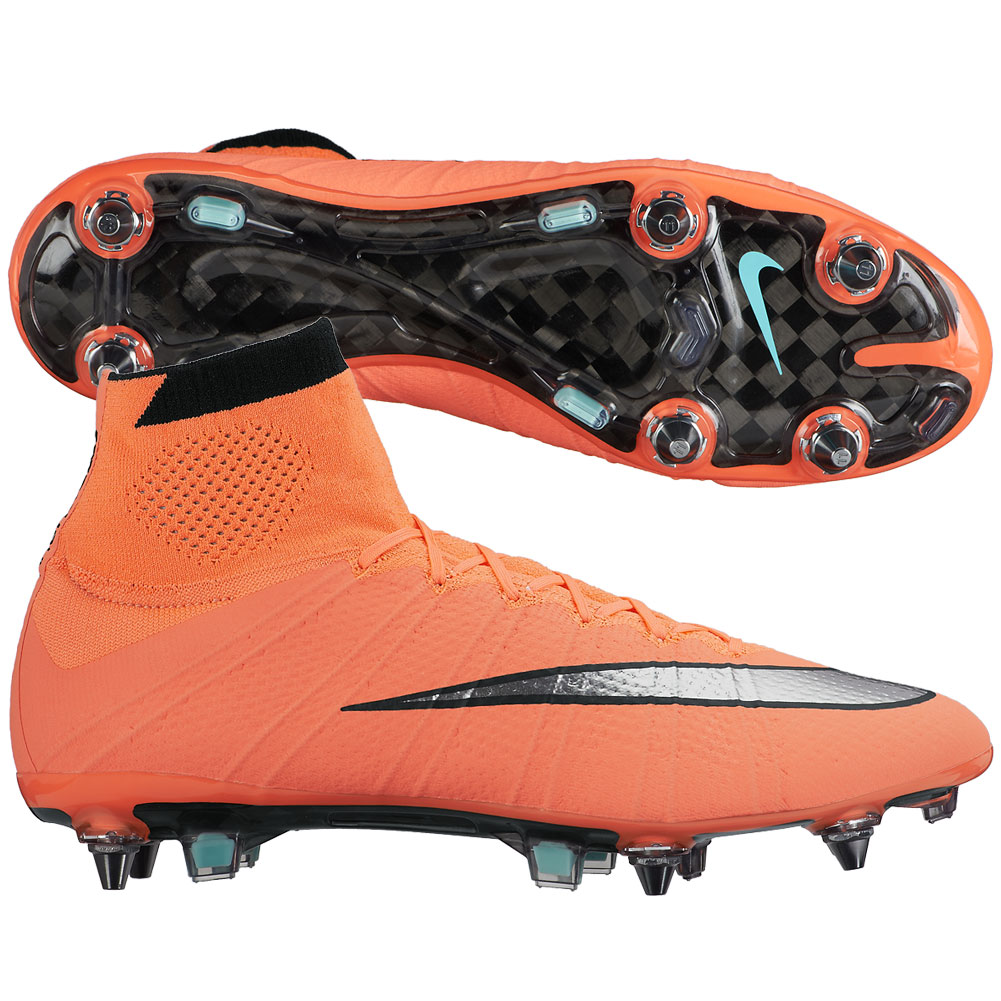 NIKE Mens Mercurial Superfly SG-Pro Soft Ground Soccer Cleats ...