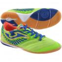 Joma Mens Supersonic Indoor Soccer Shoe Lemon/Blue 7 1/2