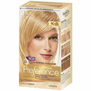 Loreal Blonde L Oreal New Shade Excellence Colourant Natural Golden 83 At Preference Light Ash 19 Hair Colour