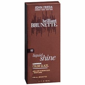 John Frieda Colour Refreshing Gloss In Warm Brunette Tutorial Review You