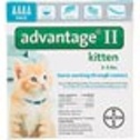 Advantage II Once-A-Month Cat & Kitten Topical Flea Treatment - Advantage Flea Control and Flea Medicine for Cats