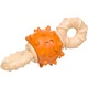 Nylabone Dura Chew Double Action Bacon Flavored Rotating Center Dog Chew, Wolf