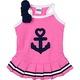 PETCO Pup Crew Pink Anchor Dog Dress