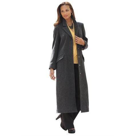 Full Length Wool Coat » Plus Size Clothing for Women - Full Beauty