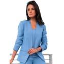 Linen-Blend Blazer | Plus Size Suits & Sets | Jessica London