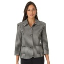 Cropped Blazer | Plus Size Suits & Sets | Jessica London