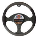 Dickies Lawrence Steering Wheel Cover - Black/Grey