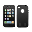 Hype Black iPhone 4 Heavy Duty Case