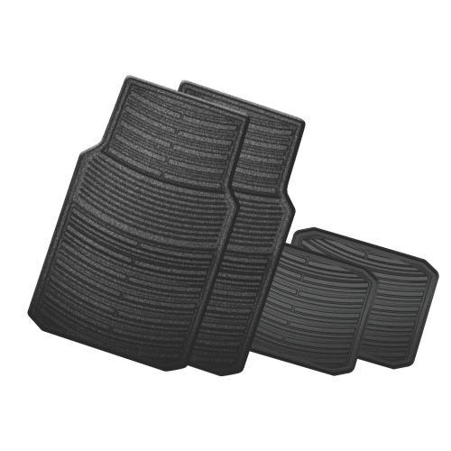Auto Expressions El Paso Black Bucket Seat Cover Set Pep