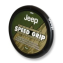 Plasticolor Jeep Speed Grip Steering Wheel Cover - Black/Multi
