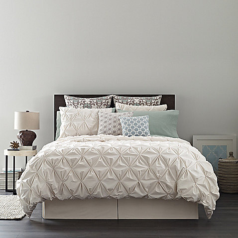Real simple camille jules bedding collection bed bath for Minimalist bed sheets