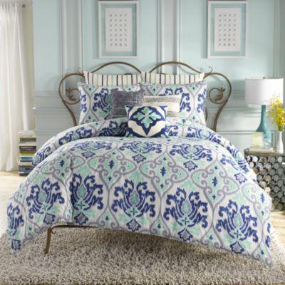 anthology jolie reversible comforter set » bed bath & beyond video