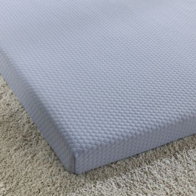 simmons® siesta 3-inch roll-up memory foam twin mattress » bed