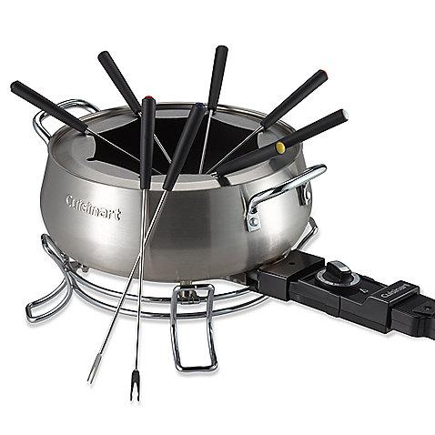 cuisinart cfo 355 electric fondue set » bed bath & beyond video