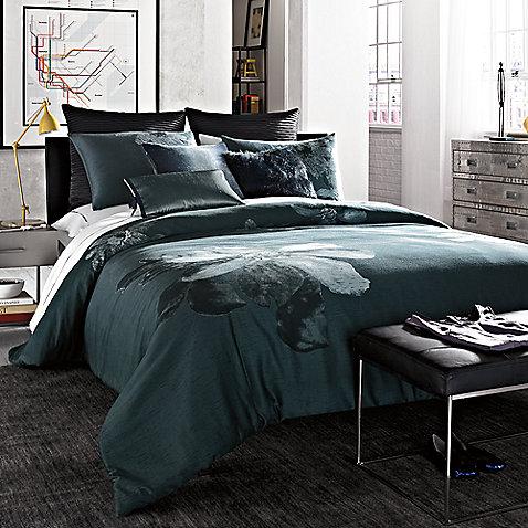 kenneth cole reaction home etched floral comforter set » bed bath
