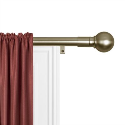 Maytex Smart Rods Easy Install Curtain Rods » Bed Bath & Beyond Video