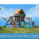 Costco - Twin Turbo Tower Playset by Yardline Play System