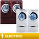 Costco - Daewoo Electric Steam Laundry Suite  4.5CuFt Washer  7.3CuFt Dryer  Smart Detergent System