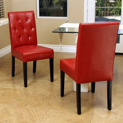 Costco Leather Dining Chairs