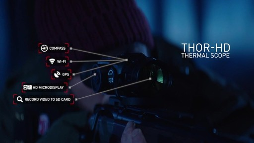 ATN Thor-HD 1 25-5x Thermal Rifle Scope