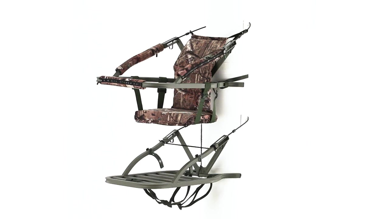 Summit Goliath SD Climber Tree Stand 360 View - Video Gallery