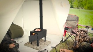 Hq Issue Outdoor Wood Stove 648081 Stoves At Sportsman