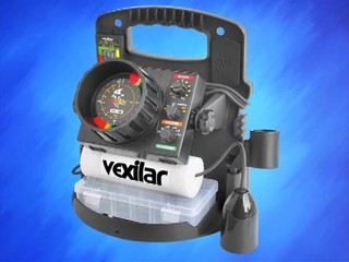 vexilar fl-18 flasher fishfinder pro pack ii with 12 degree ice, Fish Finder