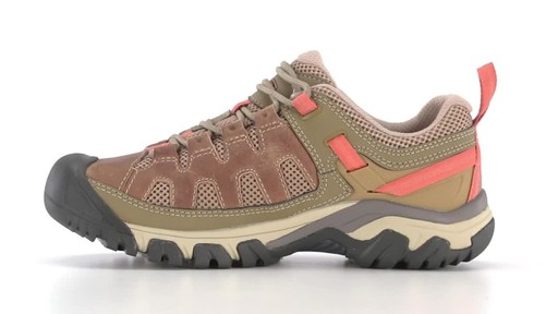 f87d5bfee3a52 KEEN Women's Targhee Vent Low Hiking Shoes 360 View
