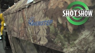 Ameristep Element Hunting Blind - 2016 SHOT Show