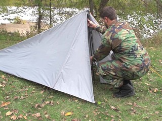 HQ ISSUE™ Single Pole Backpack Tent