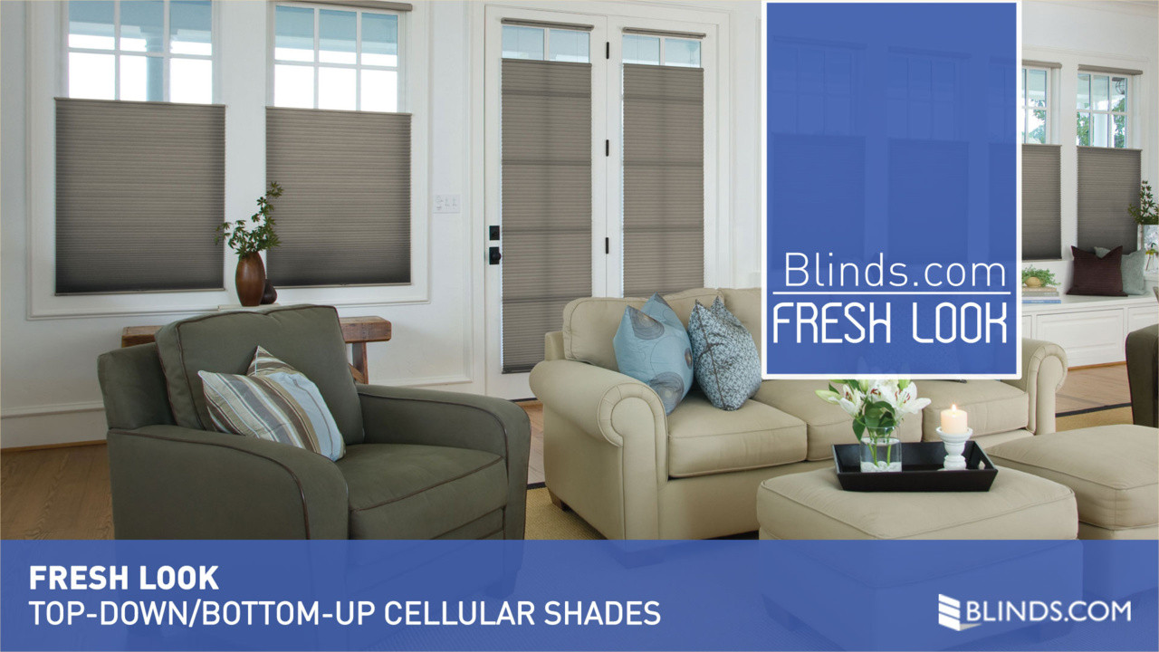 TopDownBottomUp Cell Shades Fresh Look raquo Cellular Shades